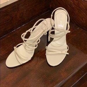 Nine West spaghetti strap heels